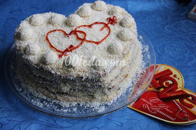Торт Рафаэлло для любимого