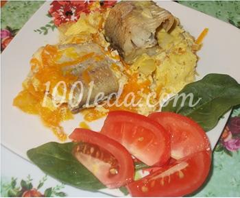 Вкусная рыба в мультиварке пошаговые рецепты 74