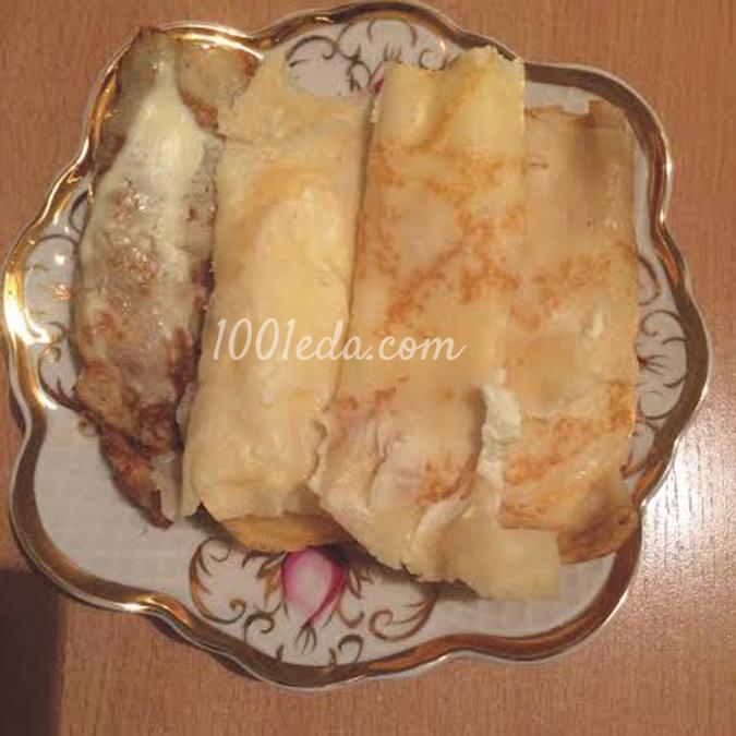 Блины на минеральной воде - рецепт с фото на Повар.ру