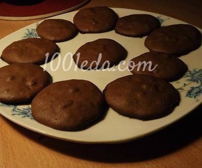 Шоколадное печенье: рецепт с пошаговым фото