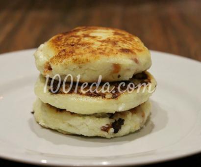 Сырники с курагой: рецепт с пошаговым фото