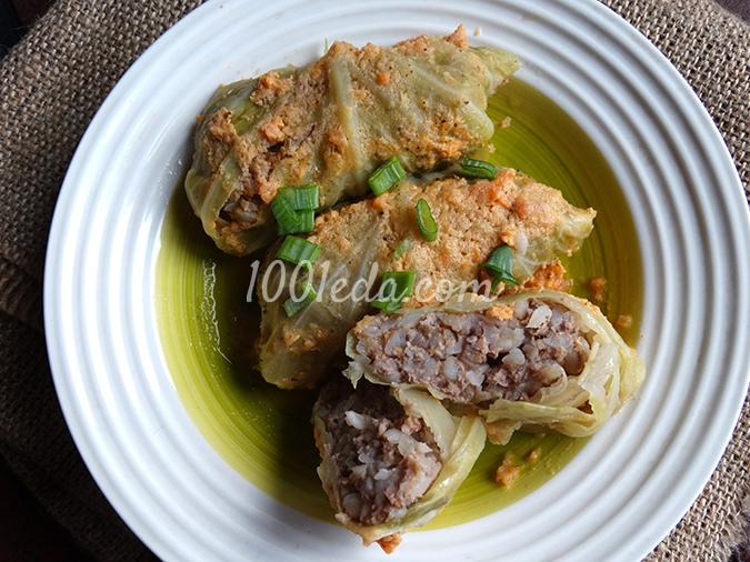 Голубцы с гречкой рецепт с фото