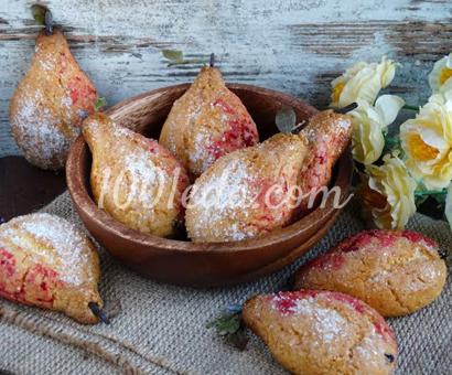 Печенье Грушка-дичка: рецепт с пошаговым фото