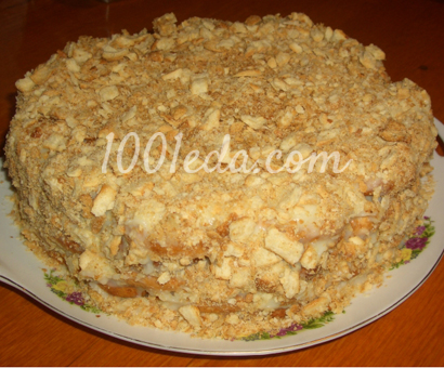 Коржи для торта медовик на сковороде рецепт