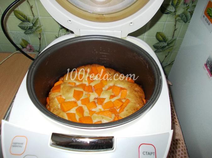 Шарлотка с тыквой в мультиварке рецепт с фото