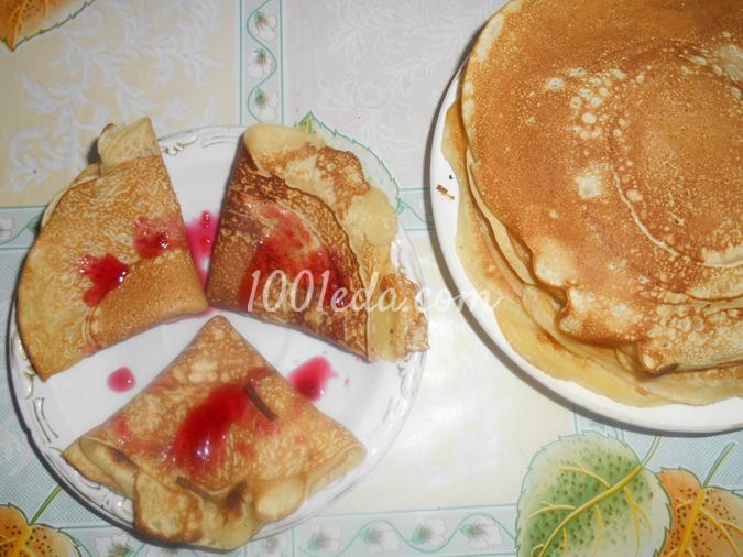 Французские блины рецепт пошагово 1