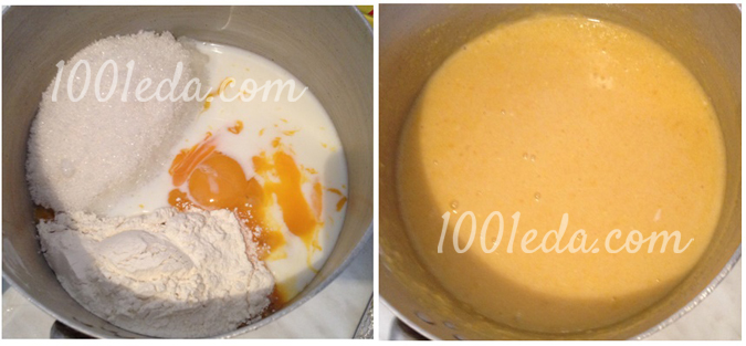 Торт наполеон как у бабушки пошагово