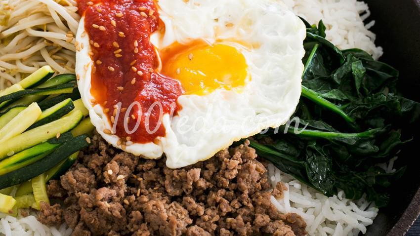 Бибимбап - полезное и изысканное блюдо из Кореи