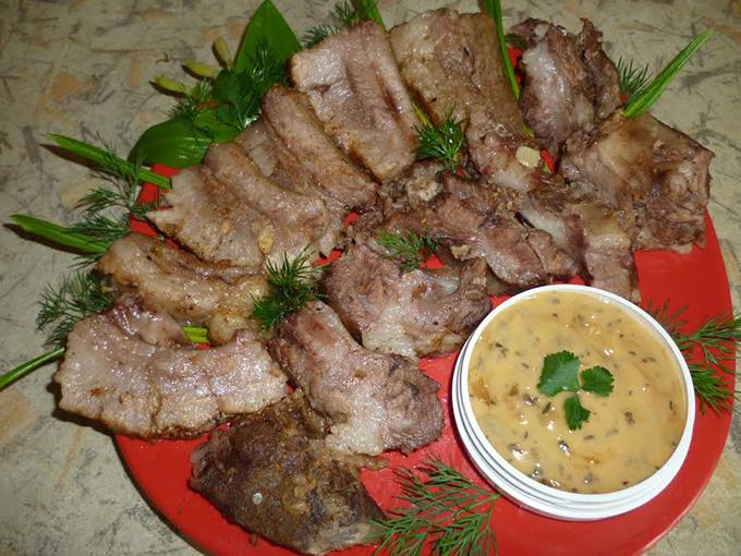 Свинина в рукаве пошаговый рецепт с фото