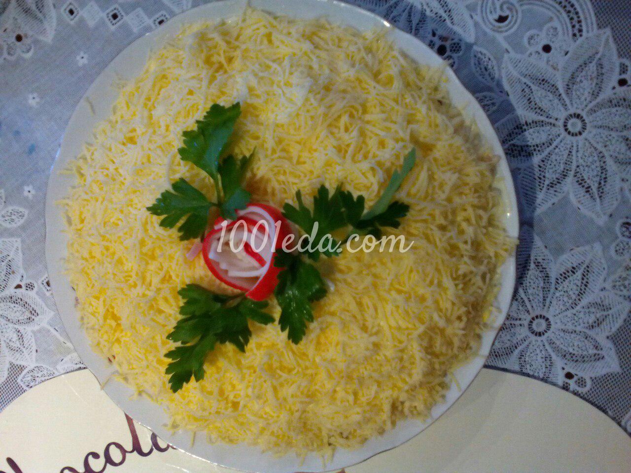 Салат восторг с курицы рецепт с