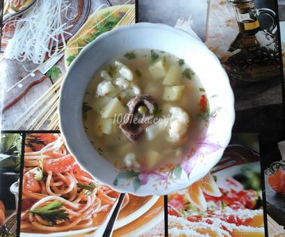 Суп с горошком и цветной капустой