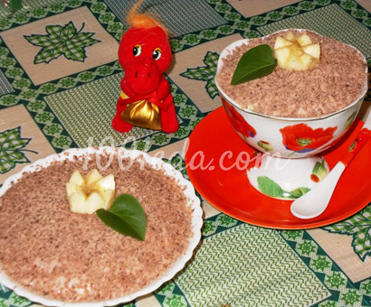 Десерт с зефиром и творогом для моих мальчишек: рецепт с пошаговым фото