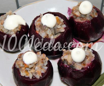 Детский салат свекольные корзинки с начинкой: рецепт с пошаговым фото