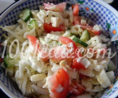 Детский витаминный салат