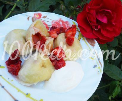 Кнедли с клубникой: рецепт с пошаговым фото