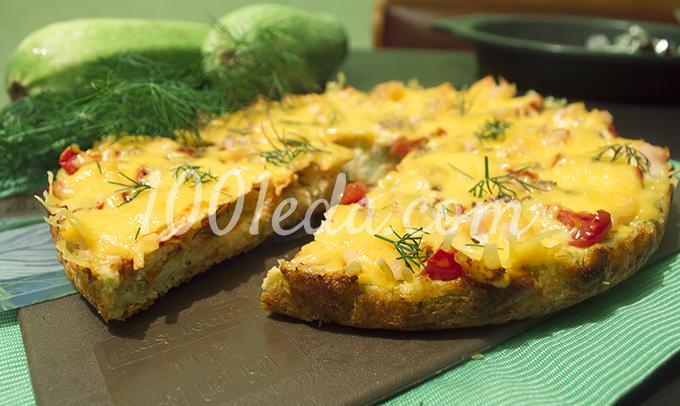 легко узнать пицца из кабачков рецепт с фото пошагово село