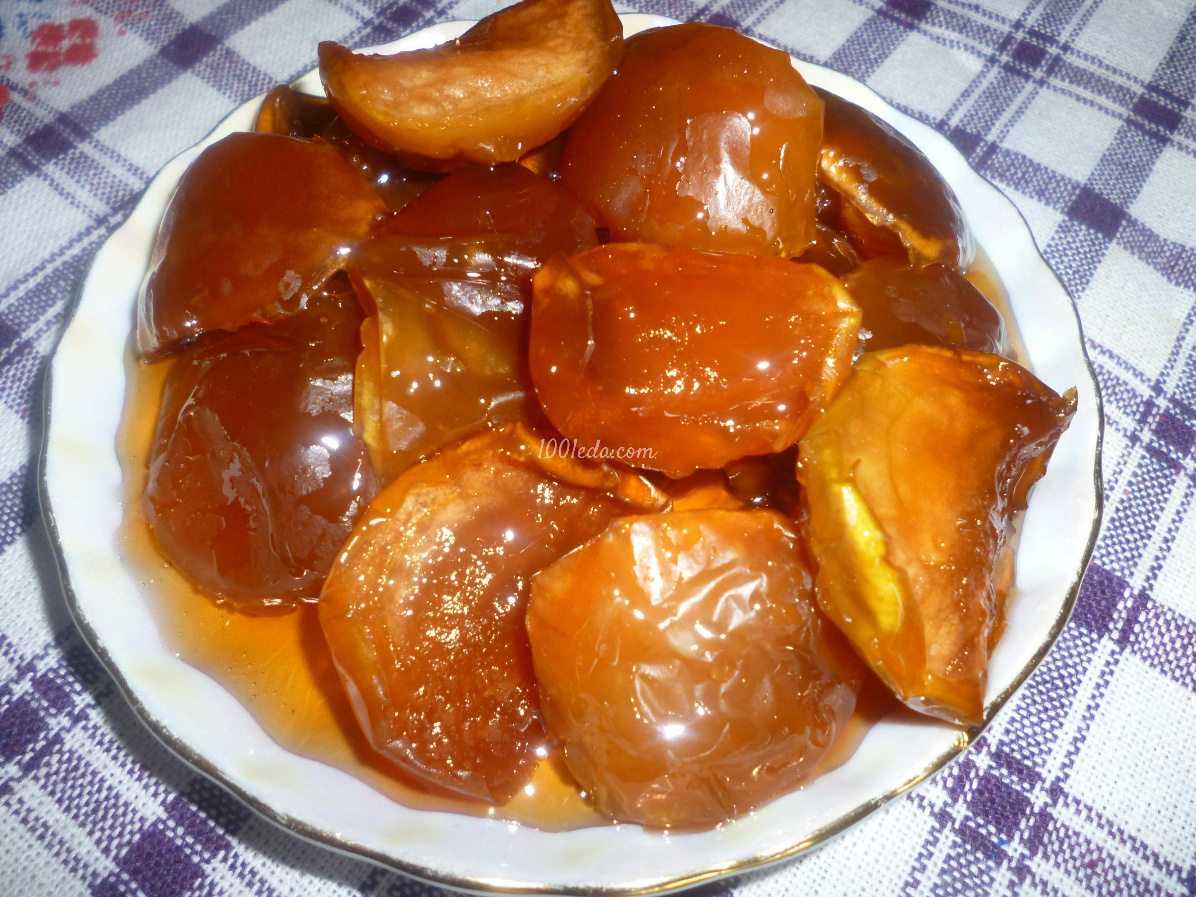 Варенье яблочное с фото пошагово