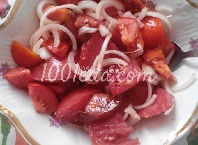 Любимый дедушкин салат из помидор