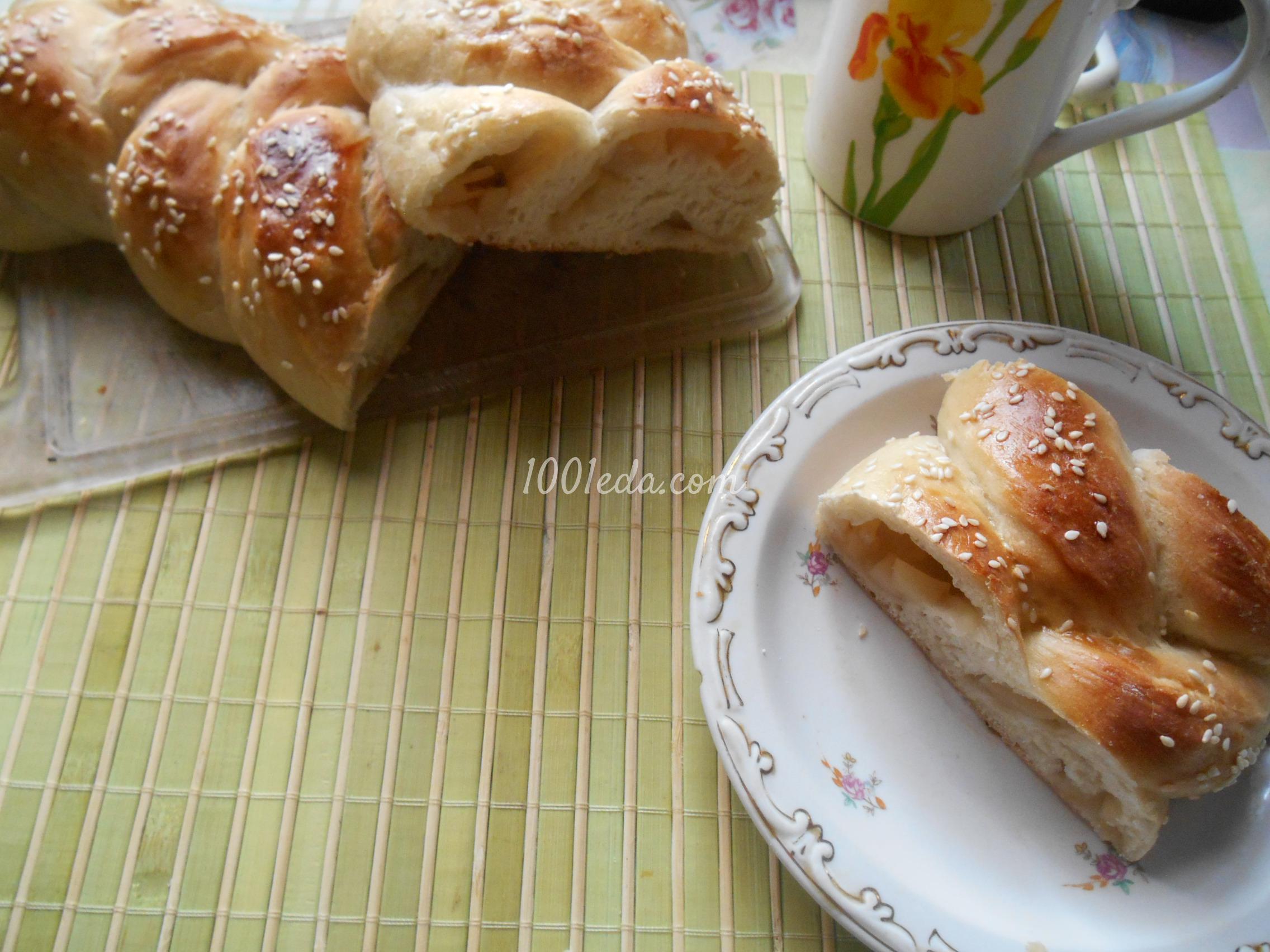 Слоёное тесто с яблоками пирог рецепт пошагово в духовке