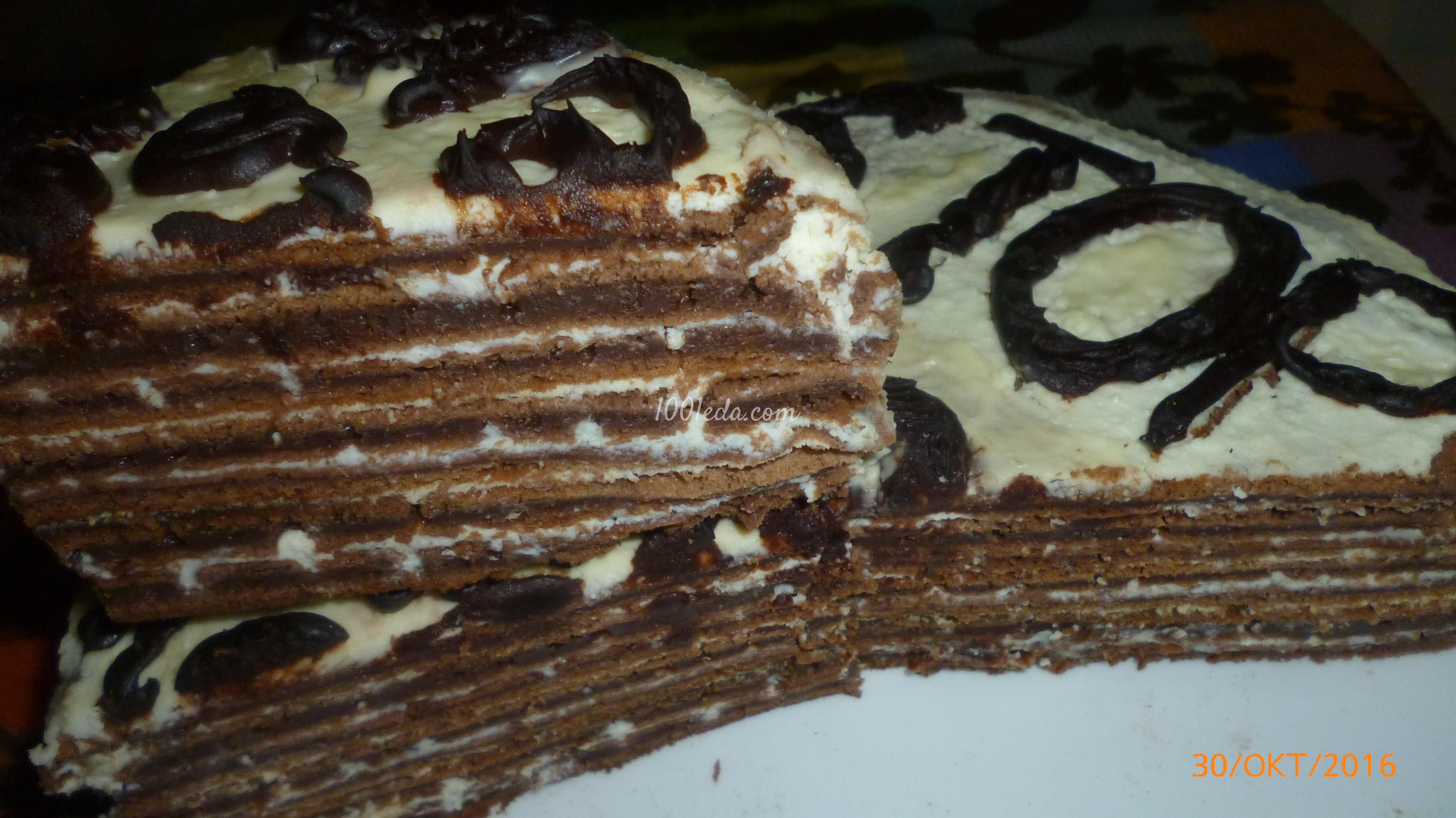 Как делать торт из коржей фото рецепт