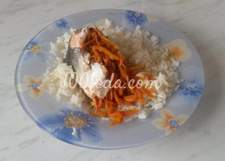 Горбуша в духовке пошагово с фото