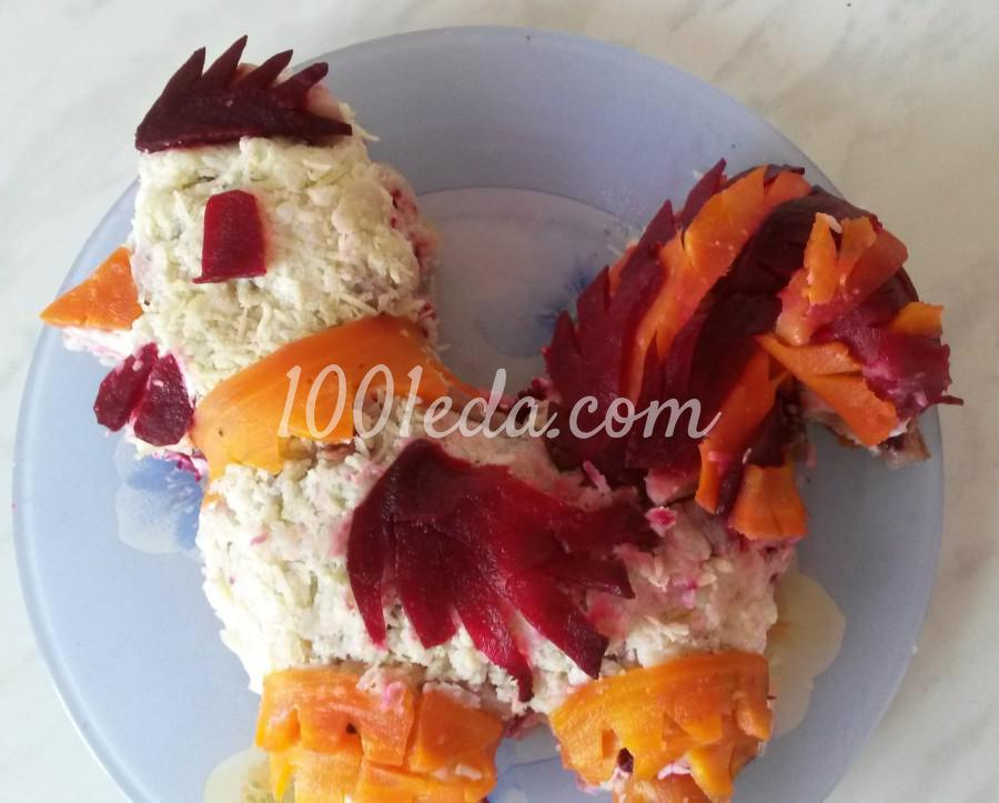 Блины с курицей салат рецепт пошагово 90