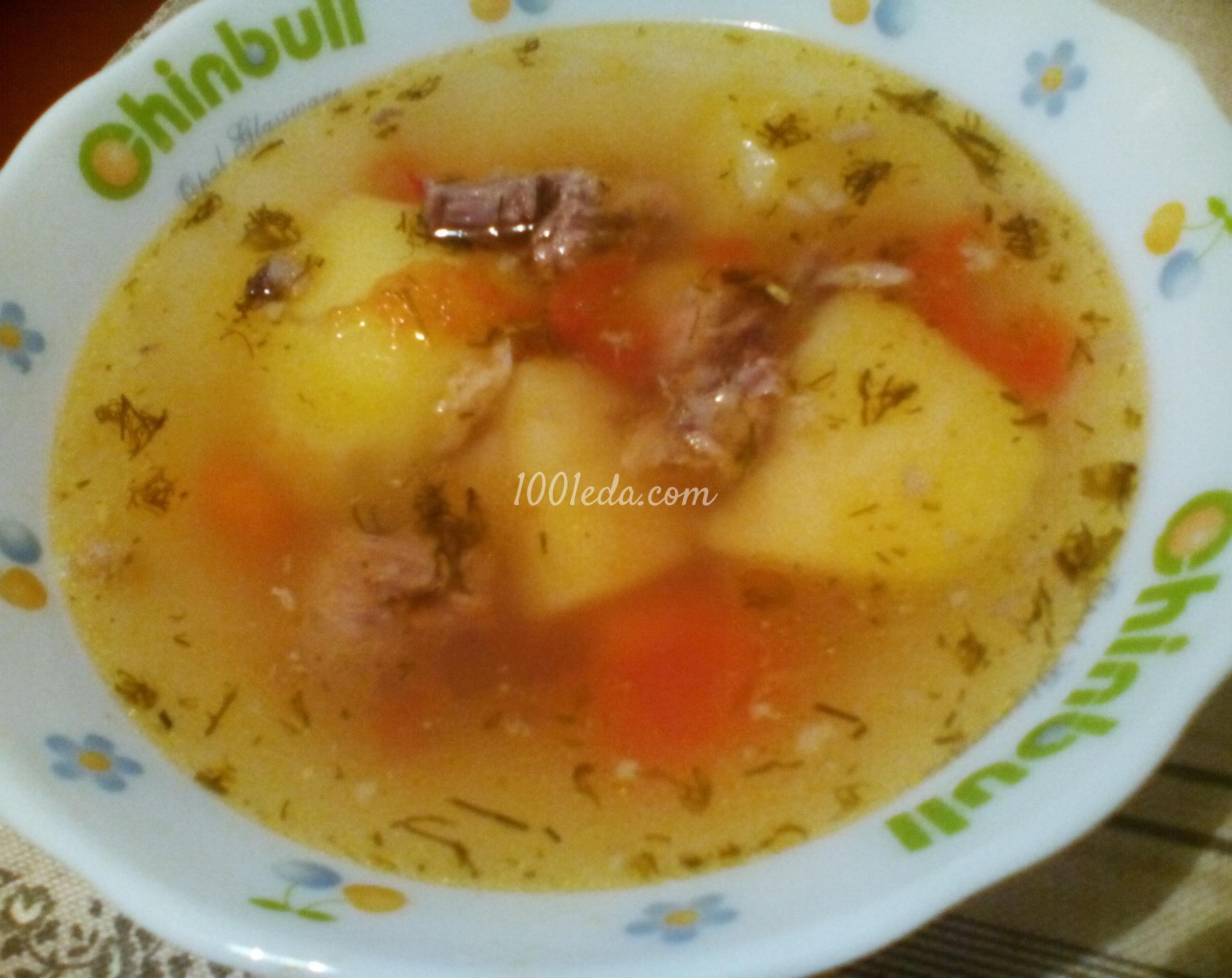 Какой суп сварить на мясном бульоне