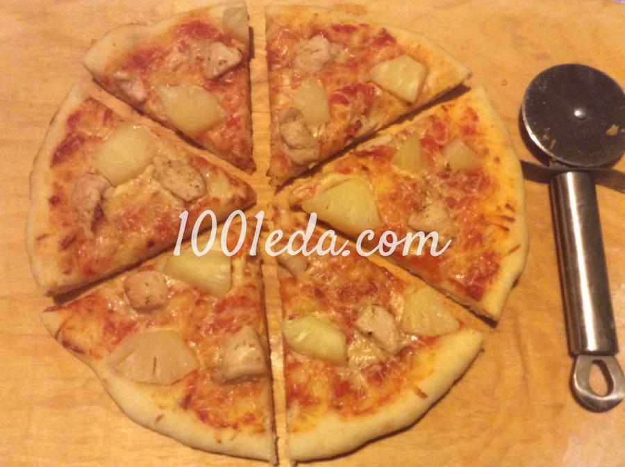 Пицца минутка в духовке рецепт с пошагово