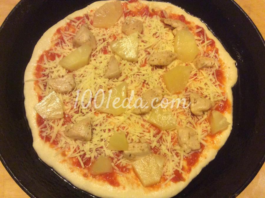 Пицца как в пиццерии рецепт с пошаговый
