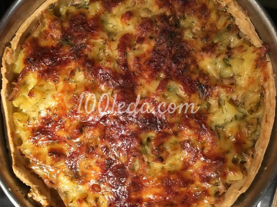 пирог с яйцом и зеленым луком рецепт с фото на кефире