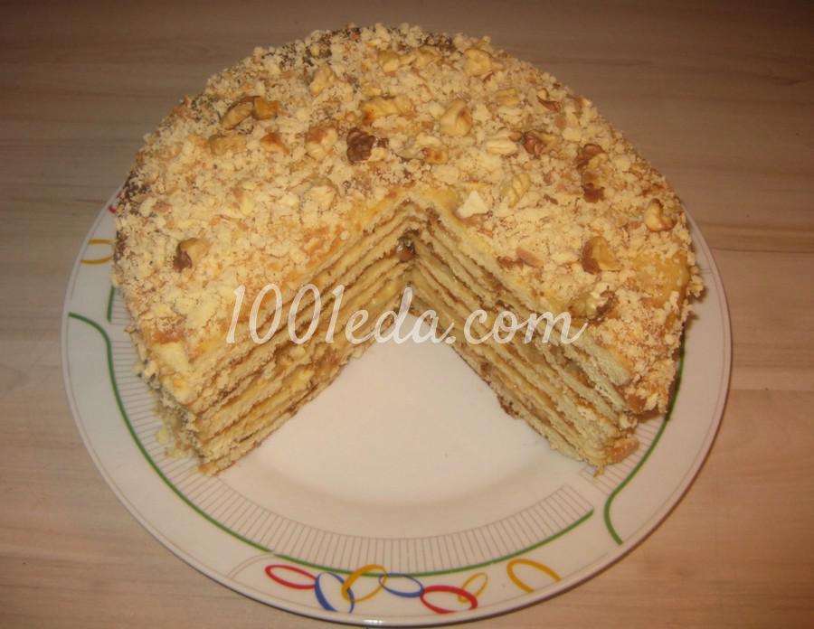 Ореховый тортик без выпекания в духовке