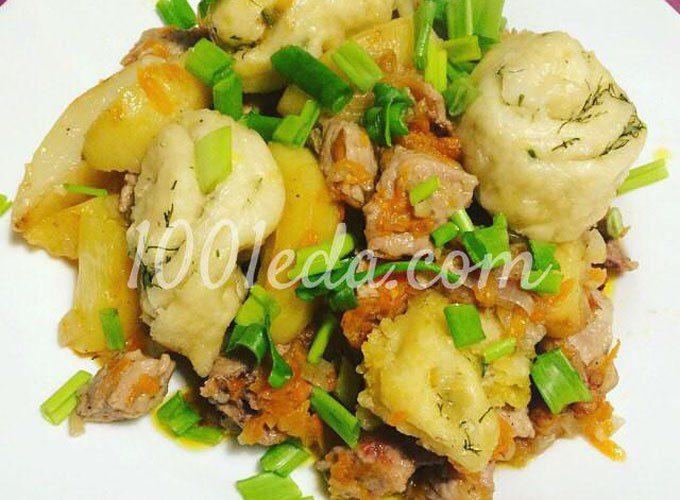 Нудли по-украински с картофелем и свининой: рецепт с пошаговым фото