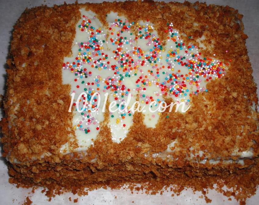 Рецепт простого торта из печенья в домашних условиях