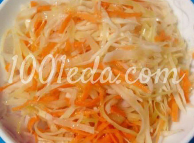 салат из капусты рецепт маринада