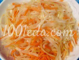 Маринованная капуста пошагово с фото