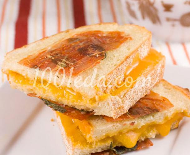 сальтимбокка с жареным сыром: рецепт с пошаговым фото