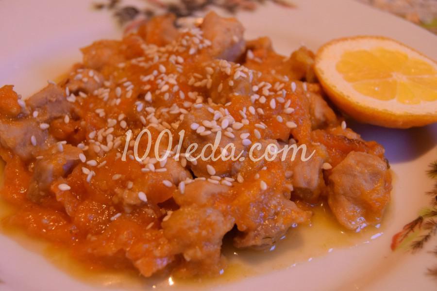 рецепты свинины в мультиварке с медом