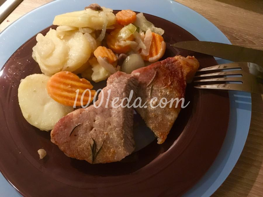 Быстрые стейки из свинины в духовке