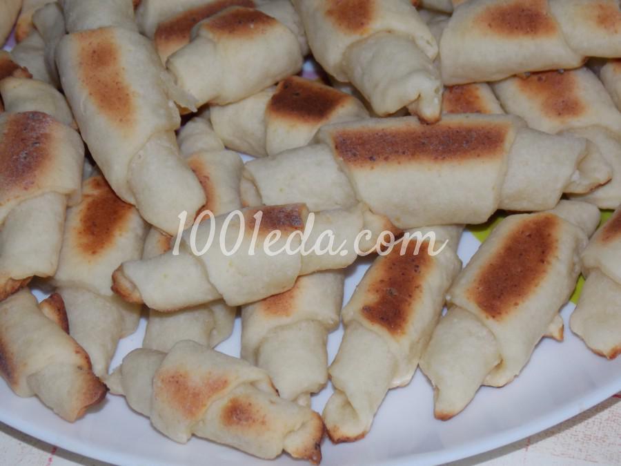 Рогалики рецепт пошагово с фото