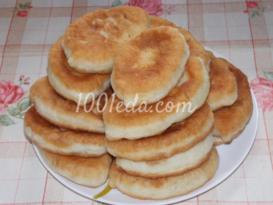 Жареные пирожки с куриным фаршем