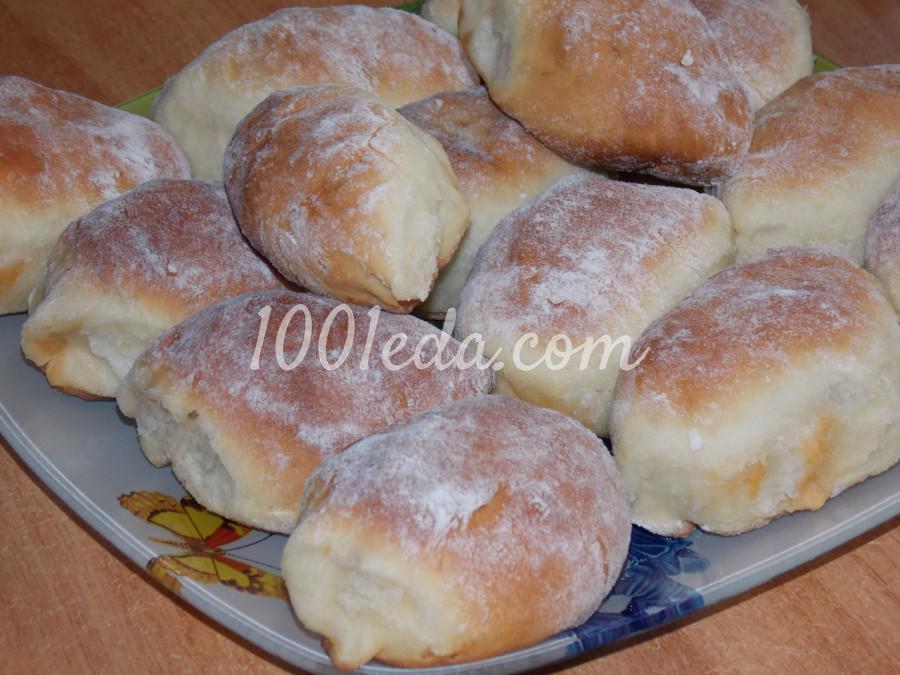 пирожки с мясом и капустой в духовке рецепт