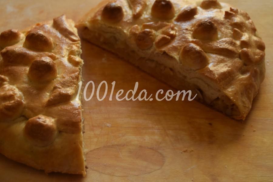 Начинка для пирога с капустой и грибами