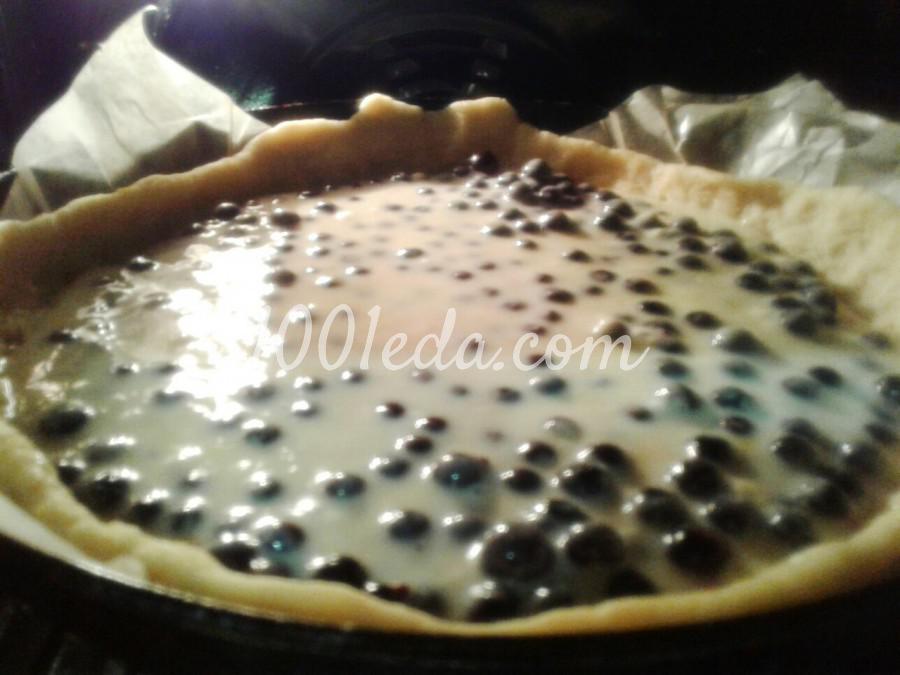 Цветаевский пирог со смородиной: рецепт с пошаговым фото - Шаг №5