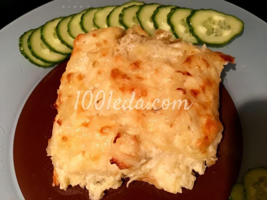 Запеченный картофель Романофф