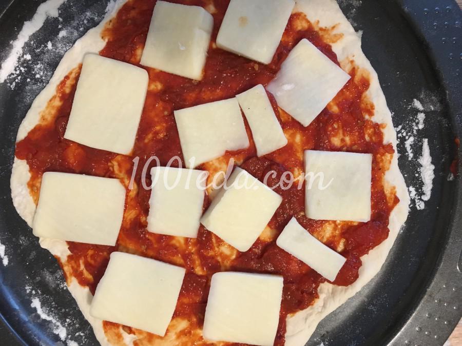 Пицца сытная мужская: рецепт с пошаговым фото - Шаг №3