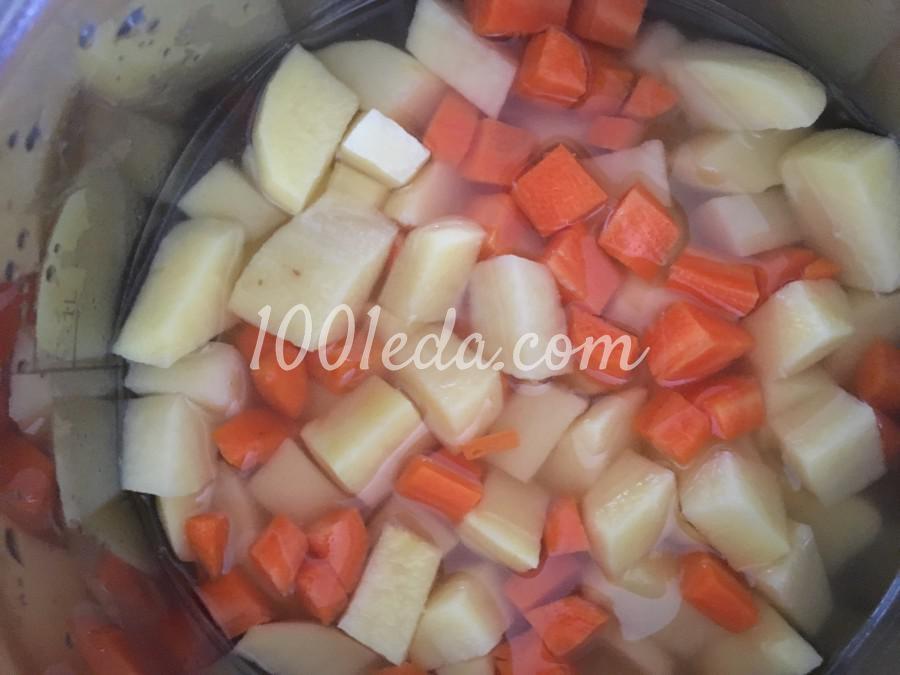 Тушеные овощи с мини-фрикадельками для малышей: рецепт с пошаговым фото - Шаг №1