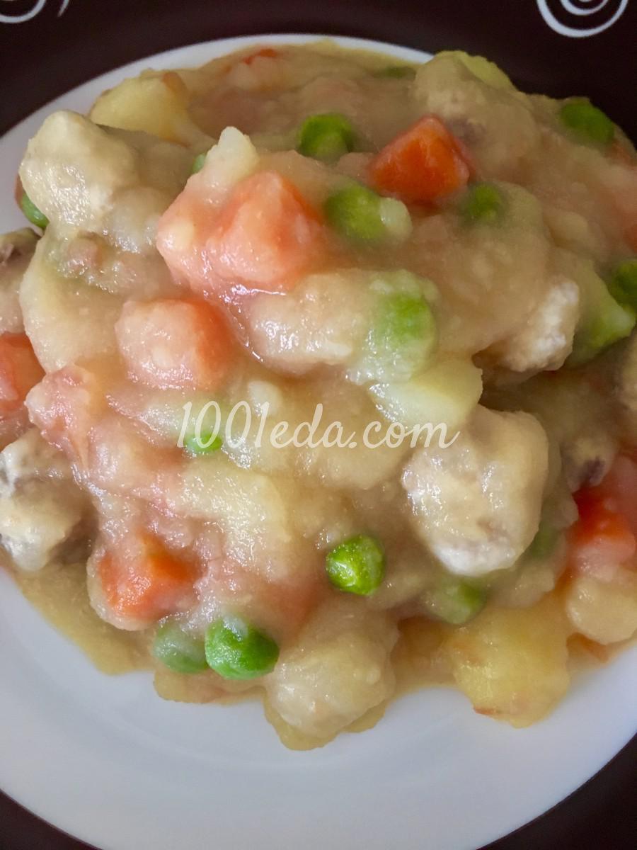 Овощи тушеные рецепт с фото пошагово