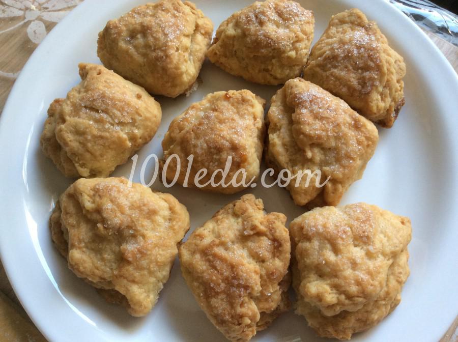 Печенье Творожные штучки: рецепт с пошаговым фото - Шаг №7