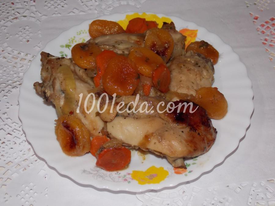 курица с луком и сыром в духовке рецепт