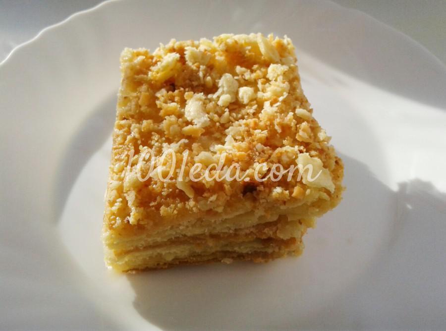 Торт наполеон классический пошаговый с фото